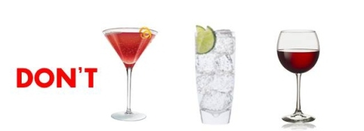 Cosmo, Gin, Zinfandel