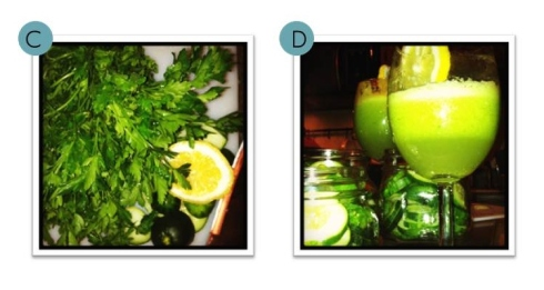 Pear Parsley Lemon Juice