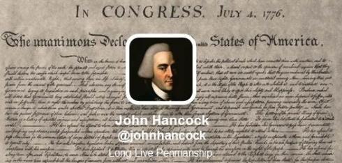John Hancock Twitter